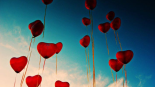 ballons coeur